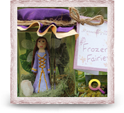 Frozen Fairy Hannah Titania (Purple)
